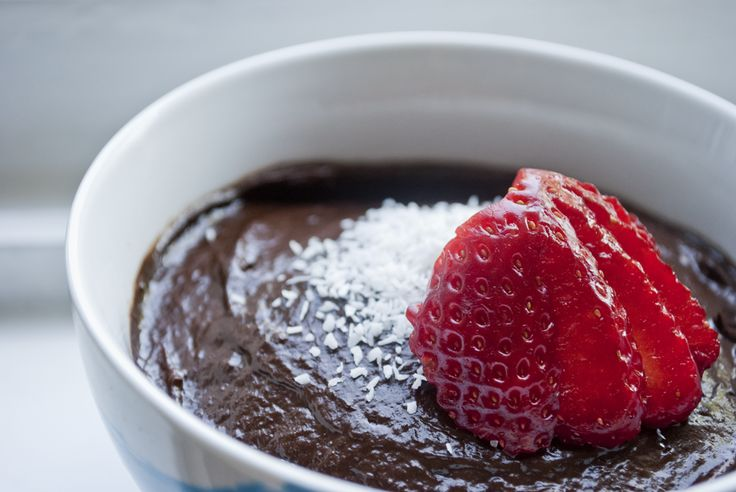 Vegan: Chocolade mousse