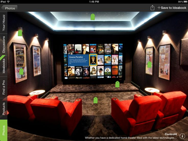238 Best HOME CINEMA Images On Pinterest | Cinema Room, Theatre Rooms And  Movie Theater Rooms