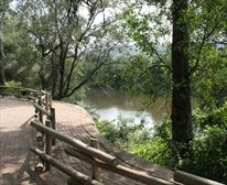Rhino Perimeter Trail camp walk - with Braille facilities