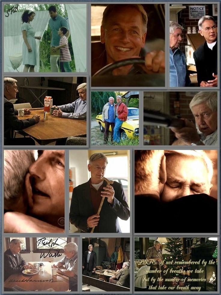 Mark Harmon/Ralph Waite NCIS. This relationship even chokes my husband up...