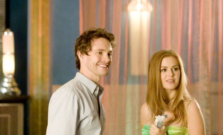 "Isla Fisher and Hugh Dancy in ""Confessions of a Shopaholic"""