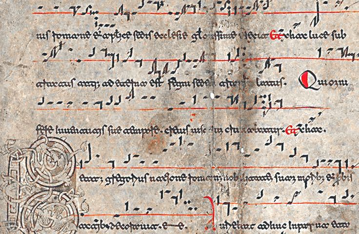 early-music-notation - The Evolution of the Treble Cleff