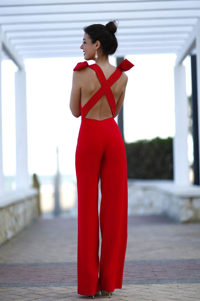 2 rojo pantalon