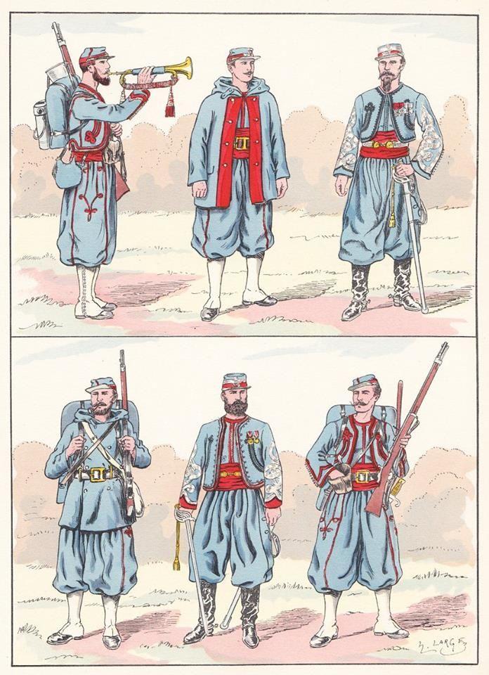 French; Legion des Volontaires de l'Oeust, 1870