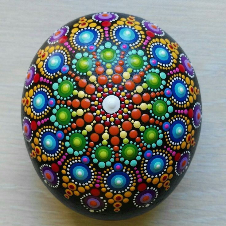 New mandala stone is ready ...