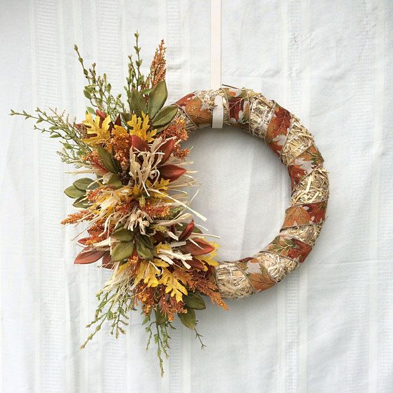 25 Best Straw Wreath Ideas On Pinterest Flag Wreath