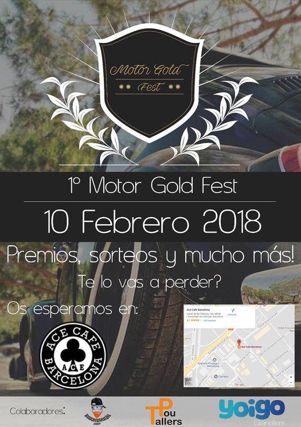 1º Motor Gold Fest En Hospitalet De Llobregat Barcelona Motores Sorteo Premios