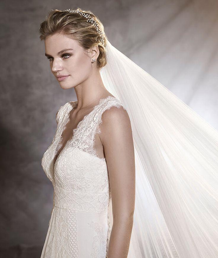 ODILIA - Robe de mariée, silhouette évasée d'Ibiza | Pronovias