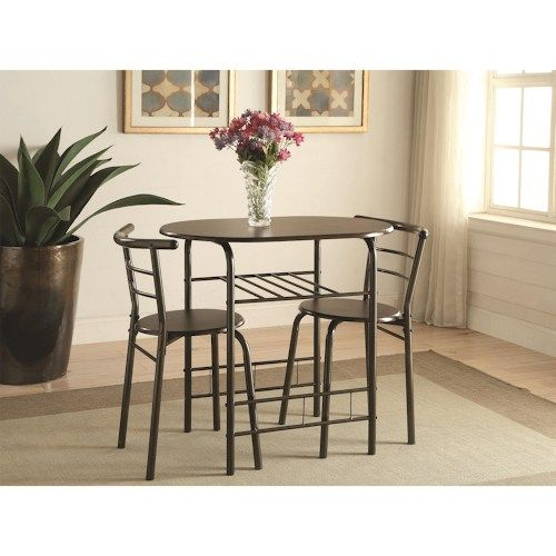 Coaster Dinettes Industrial 3 Piece Set