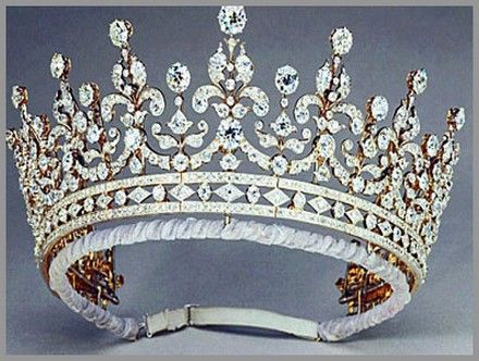 """Girls of Great Britain & Coronation Tiara"":   Initially..."
