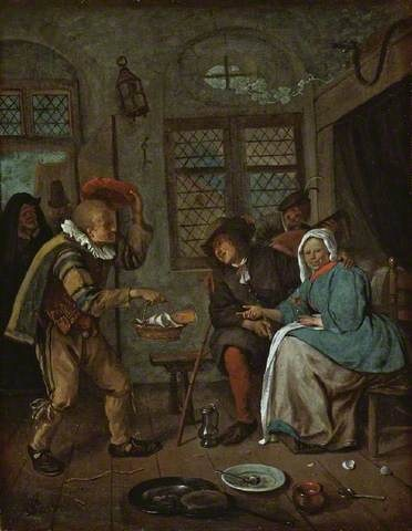 Your Paintings - Jan Steen paintings