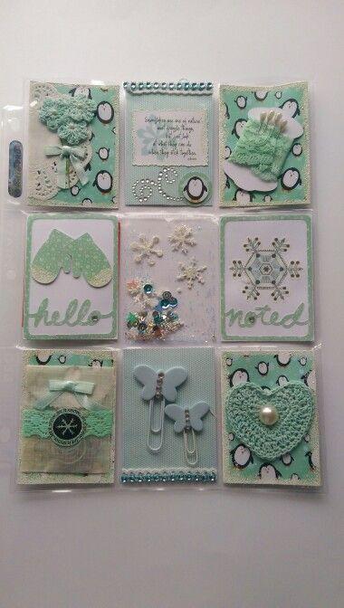 Pocket Letters ❤ Winter Wonderland Pocket letter