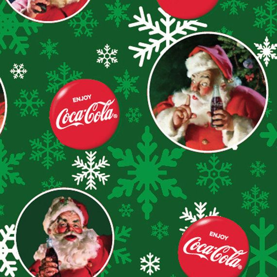 Coca-Cola Santas by Sykel Enterprises  Full or by meanderingthread