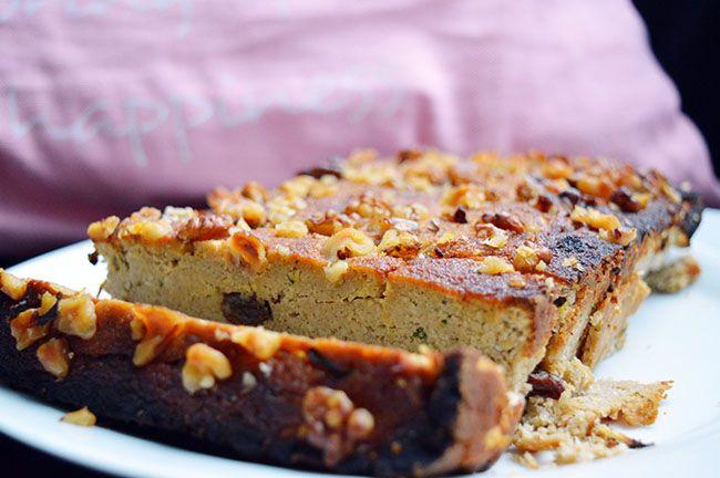 Recept voor een courgette bananenbrood. Een gezond recept met natuurlijke ingrediënten en courgette. Een verantwoord en lekker tussendoortje