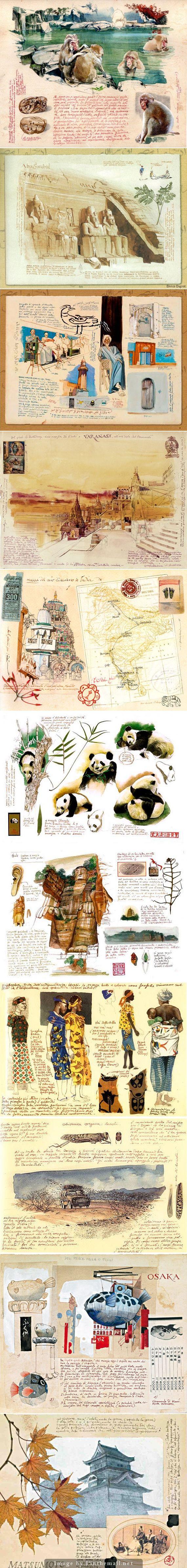 434 best travel journals images on pinterest journals sketchbooks