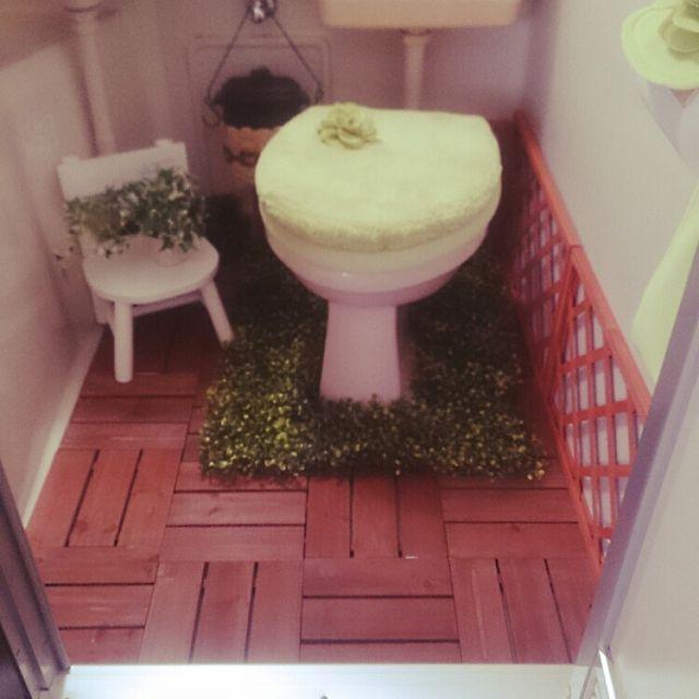 バス トイレ 一人暮らし 賃貸 ユニットバス セリア などのインテリア実例 2015 02 04 12 37 38 Roomclip ルーム