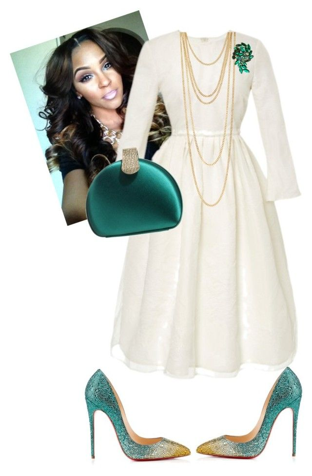 """Sunday Morning"" by cogic-fashion on Polyvore featuring Brock Collection, Reiss, Christian Louboutin and Icepinkim"