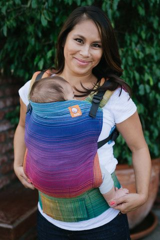 Cameo Azul Capitan I TULA BABY CARRIER *designed by Cameo@Meeyoo; woven by Girasol exclusively for Tula