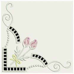 Heirloom Rose Cutwork 04(Md) machine embroidery designs