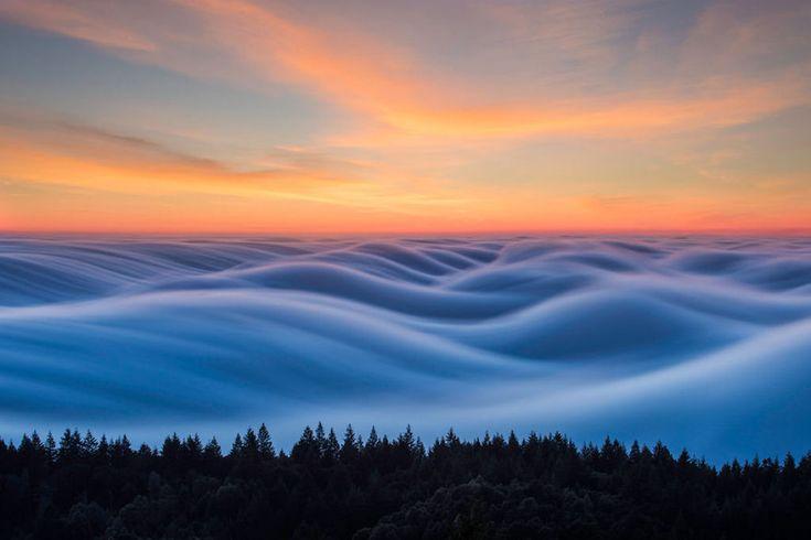 As oníricas ondas de nevoeiro registradas pelo fotógrafo Nick Steinberg 04
