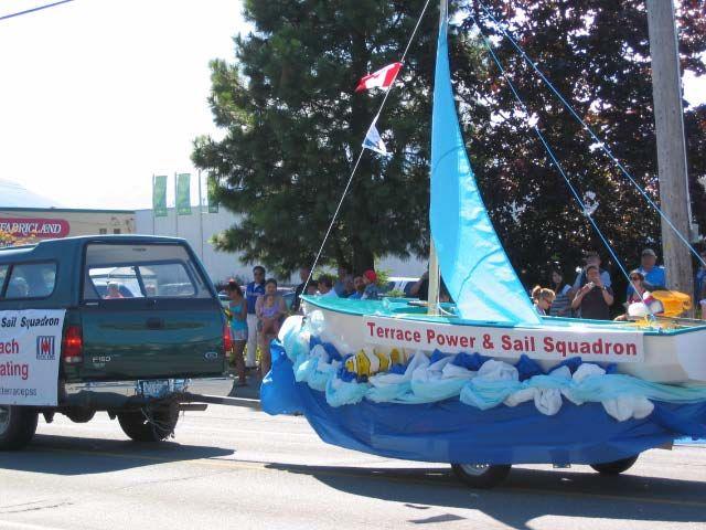 Sailboat Trailer Parade Float Google Search Parade