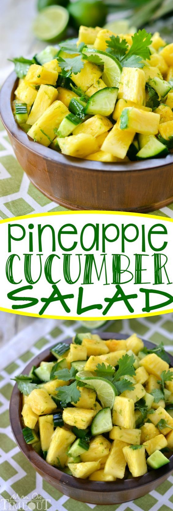 This perfectly refreshing Pineapple Cucumber Salad is wonderfully easy to make…