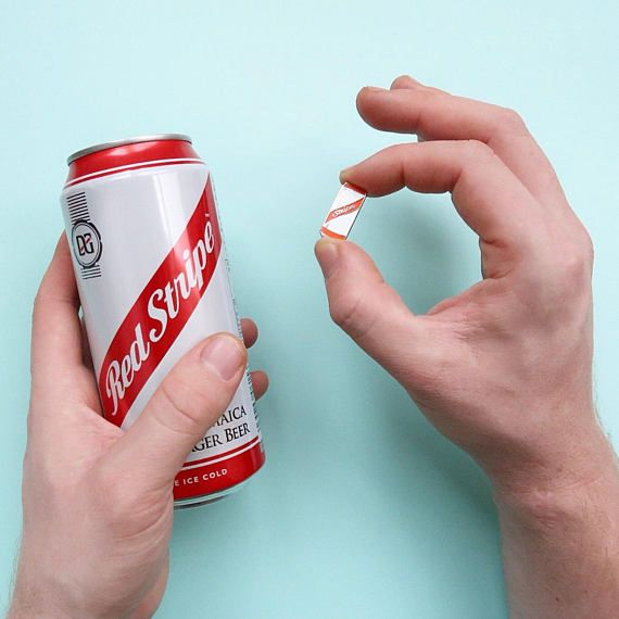 Can Top Pin Badge aluminium fizzy drinks lager pop beer tin Brand New