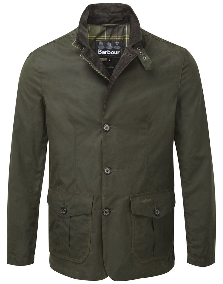 Barbour Men's Lutz Waxed Jacket – Olive MWX0566OL51