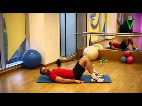 Kalça Kaldırma Egzersizleri (Alt Sırt Kasları) - YouTube