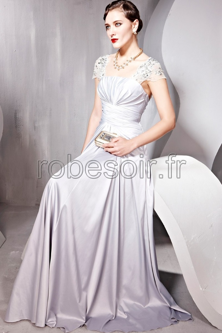 92 best images about robes de soir e on pinterest a line for Robes pour anniversaire de mariage en argent