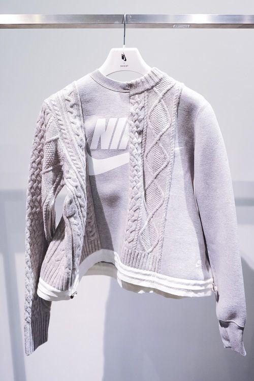 Nike x sacai NikeLab×サカイの新作、秋・ホリデーコレクション発売 - スニーカーは「ナイキ ダンク」が登場の写真23