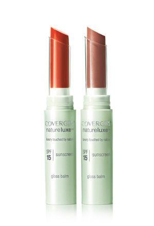 NatureLuxe Gloss Balm: Lipsticks, Lips Gloss, Naturelux Gloss, Lips Balm, Lips Products, Gloss Balm, Covergirl Naturelux, New Products, Lips Colors