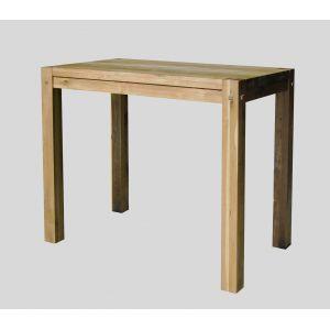 Les 25 meilleures id es concernant table mange debout sur for Table haute bois massif