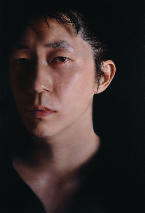 kang-hoon kang photorealistic paintings
