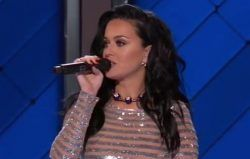 nice Katy Perry DNC Video: Watch Democratic National Convention Speech, Performance
