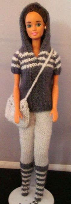 dress barbie knitting - Поиск в Google