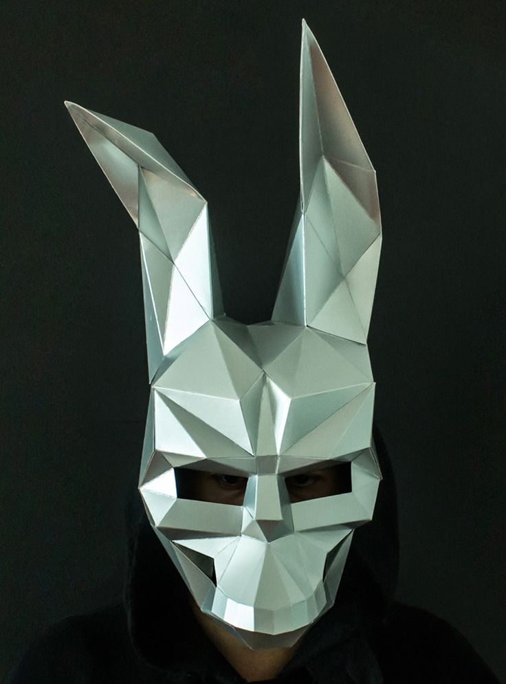 how to make frank the bunny mask