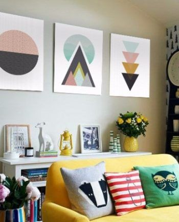 M s de 25 ideas incre bles sobre cuadros decorativos en for Adornos decorativos modernos