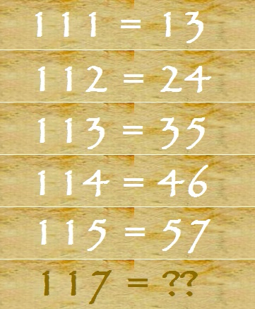 Solve this Puzzle ?    Answer to yesterday's question = 14  #Aryaaiet #School #Education #Institute #Aryainstitute #jaipurengineers