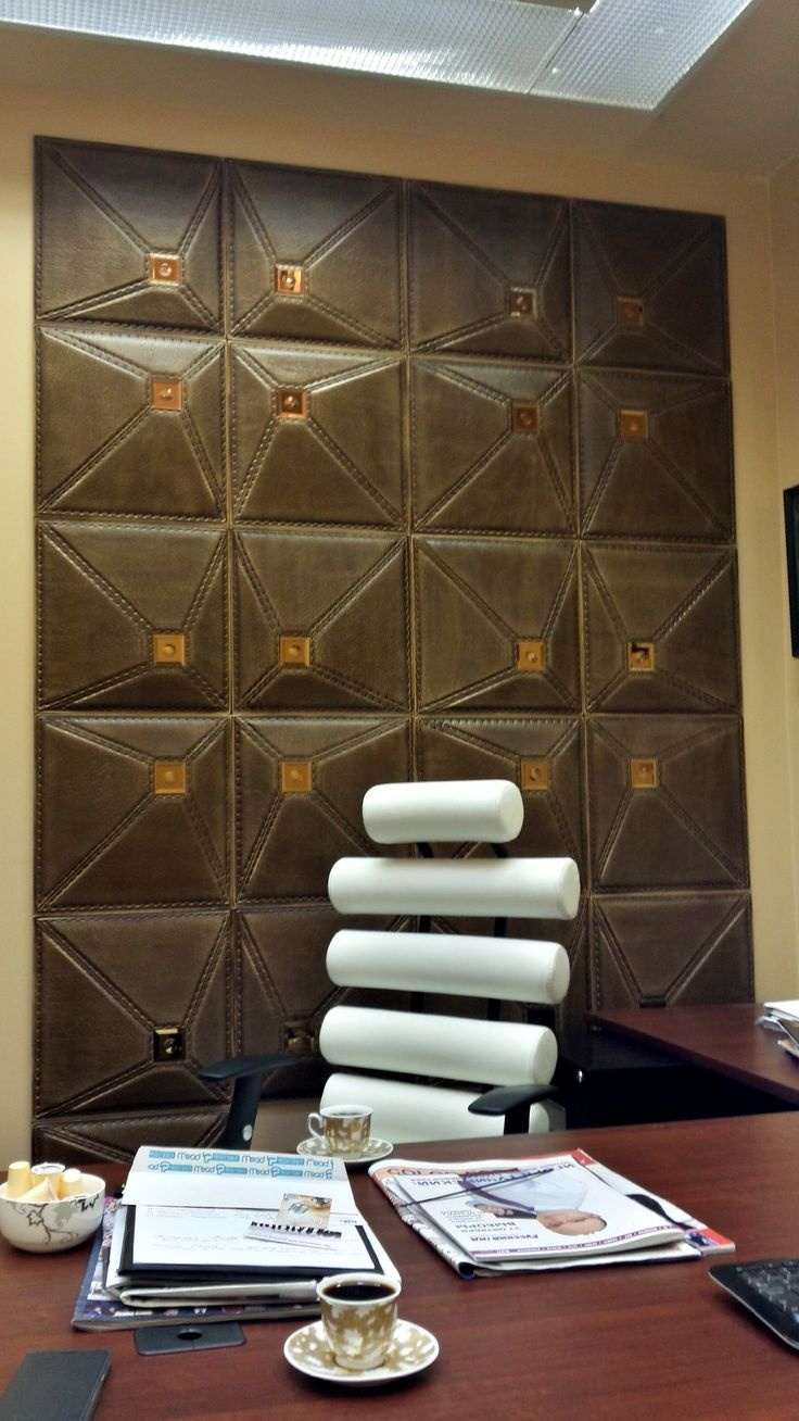 Leather Wall Paneling : Best images about d leather wall panels on pinterest