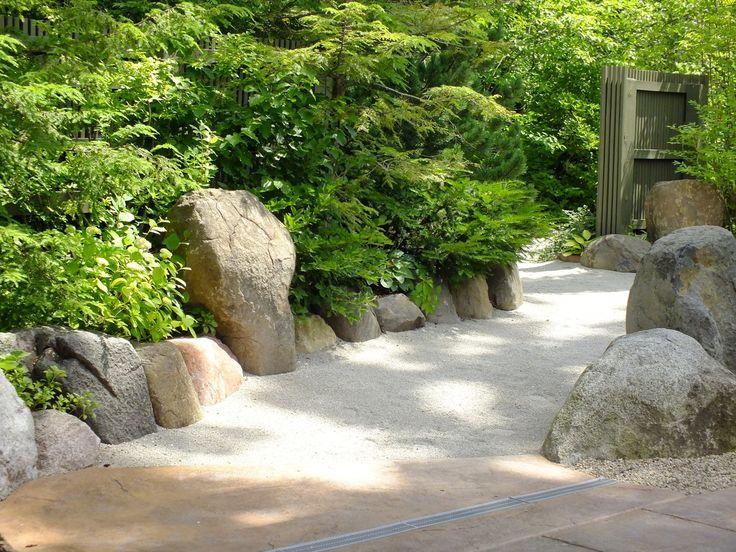 Japanese River Rock Garden