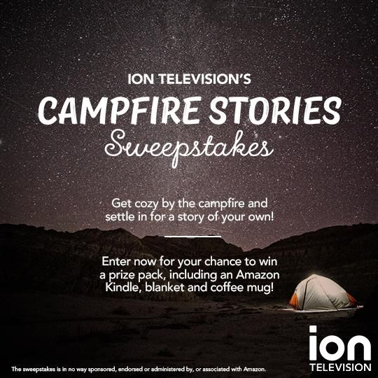 WIN a prize pack from ION Television including an Amazon Kindle, blanket and coffee mug!