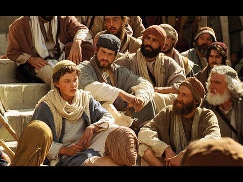 Young Jesus Teaches in the Temple - I love the exchange with his mother.