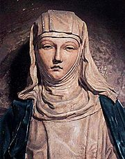 Catherine of Siena received no education and at age seven decided to become a lay member of the Dominican religious order (against the wishes of her parents)...dedicated her life to helping the ill and the poor, where she took care of them in hospitals or homes...