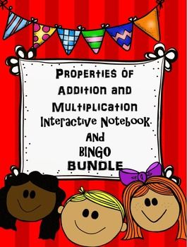 This is a bundle of my two products for the properties of Addition and Multiplication.PROPERTIES OF ADDITION AND MULTIPLICATION BINGOThis game can be used to review content dealing with the properties of multiplication and division: the identity property of addition, the identity property of multiplication, the distributive property of multiplication and addition, the distributive property of multiplication and subtraction, the commutative property of addition, the commutative property of…