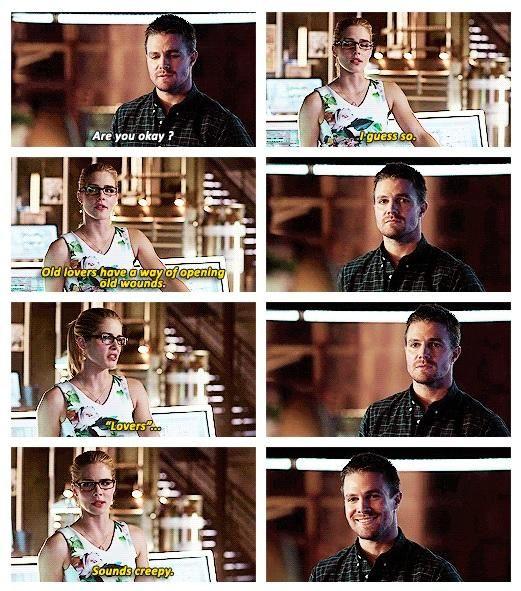 Arrow - Oliver and Felicity #3.5 #Season3 #Olicity <3