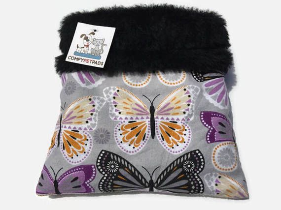 Butterfly Snuggle Sack, Hedgie Bag, Pocket Pet Bed, Pocket Pet, Small Animal Sleeping Bag, Bonding Carrier Bag, Cuddle Cup, Made in Colorado #SnuggleSack #BondingCarrierBag #ColorfulPetBedding #CuddleCup #CuddleBag #PocketPetBed #HedgieBag #PocketPet #HedgehogSack #SmallPetBedding