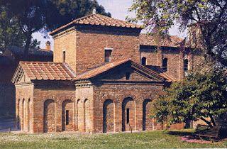 Geografía, Historia y Arte: Mosaico del Buen Pastor en el Mausoleo de Gala Placidia.