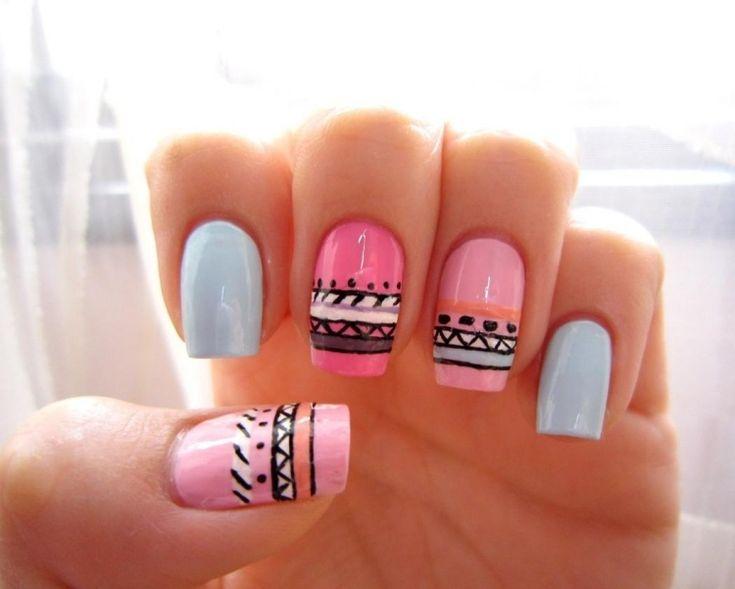 ... Ongles Aztèques sur Pinterest  Ongles, Ongles Tribaux et Nail Art