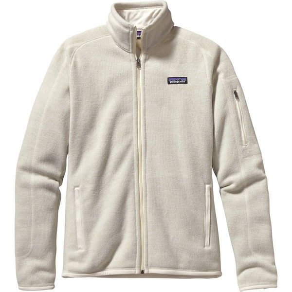 Patagonia Better Sweater Jacket ($139) ❤ liked on Polyvore featuring tops, sweaters, zipper top, ski sweater, slimming tops, zip sweater and slim fit sweater